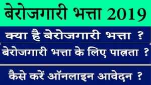 berojgari-bhatta-online-form-2019-बेरोजगारी-भत्ता-2019