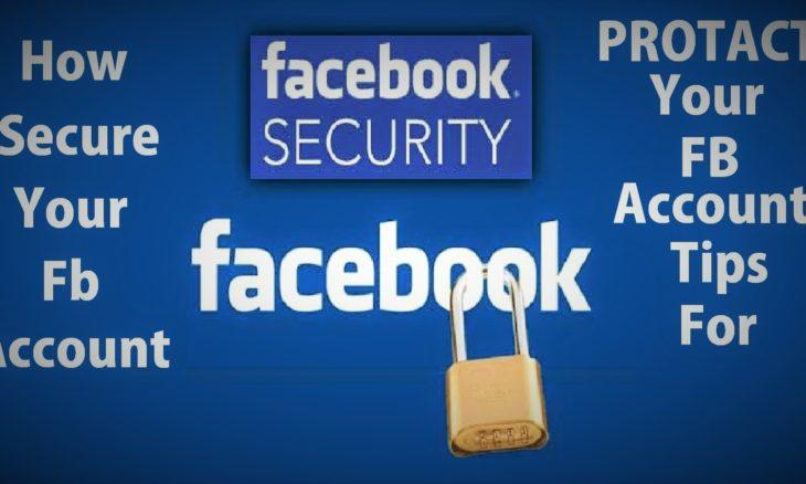 secure facebook account