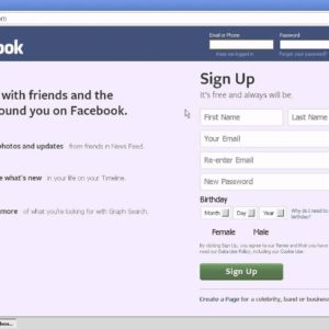 How to Log in & Sign Up to Facebook