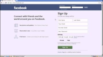 Facebook : How to Log in & Sign Up – Best Tips